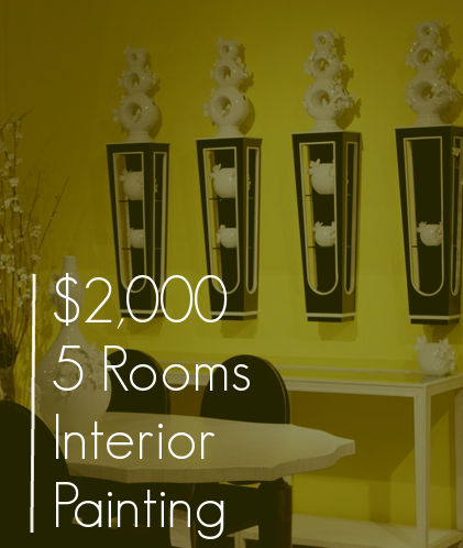 5 Rooms Of Interior Painting